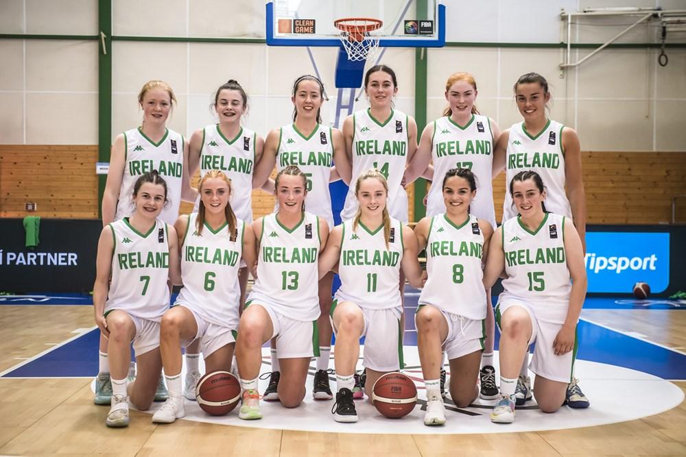 Ireland U18 Women's Team 2021